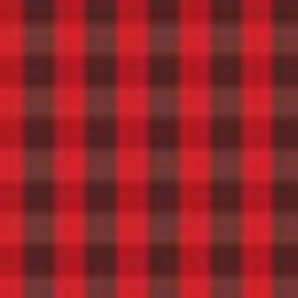 TORCH RED/RUSSET PLAID