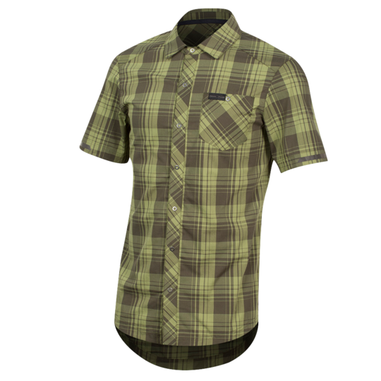 Men's Short Sleeve Button-Up1