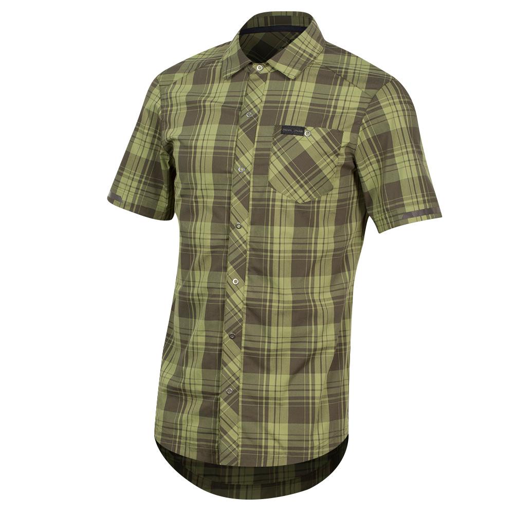 Men's Short Sleeve Button-Up1