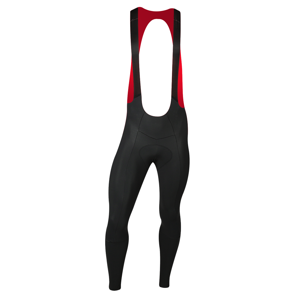 Men's PI/BLACK Merino Cycling Bib Tight1