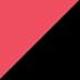 FIERY CORAL/BLACK