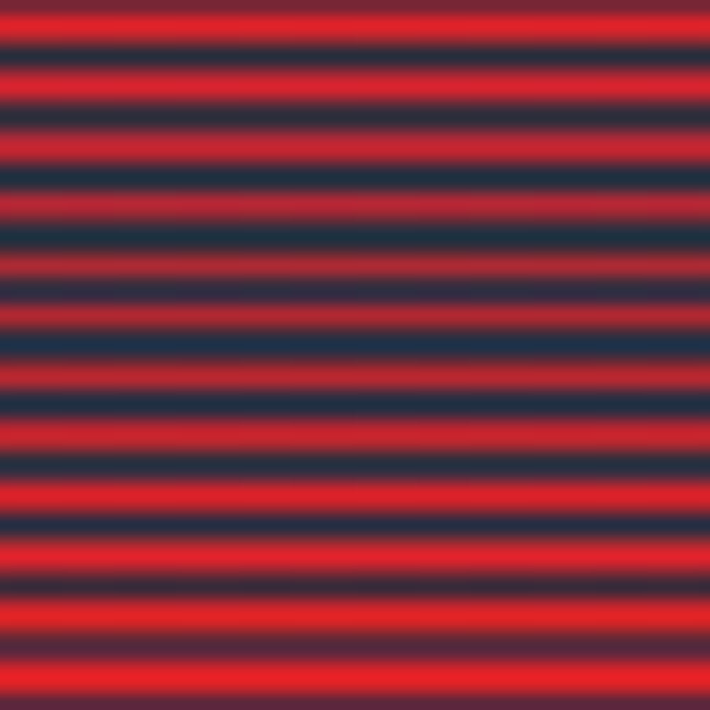 TORCH RED/NAVY STRIPE