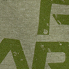 Distressed Logo Army Green