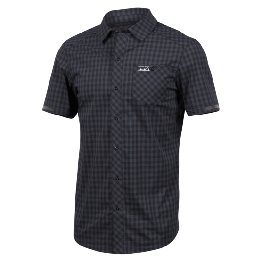 Men's Short Sleeve Button-Up